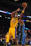 Washington Wizards v Los Angeles Lakers: Kobe Bryant Photographic Print by Noah Graham