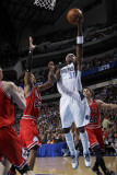 Chicago Bulls v Dallas Mavericks: Jason Terry, Taj Gibson and Kyle Korver Photographic Print by Danny Bollinger