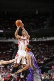 Phoenix Suns v Houston Rockets: Courtney Lee Photographic Print by Bill Baptist