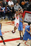 Oklahoma City Thunder v Houston Rockets: Kyle Lowry and Eric Maynor Photographic Print by Bill Baptist