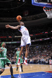 Boston Celtics v Philadelphia 76ers: Thaddeus Young Photographic Print by David Dow