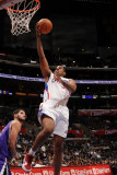 Sacramento Kings v Los Angeles Clippers: Jarron Collins Photographic Print by Noah Graham