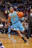New Orleans Hornets v Sacramento Kings: Chris Paul Photographic Print by Rocky Widner
