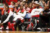 Phoenix Suns v Miami Heat: Dwyane Wade and LeBron James Photographic Print by Issac Baldizon