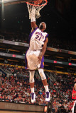 Portland Trail Blazers v Phoenix Suns: Hakim Warrick Photographic Print by Barry Gossage