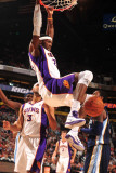 Memphis Grizzlies v Phoenix Suns: Hakim Warrick Photographic Print by Barry Gossage