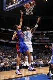 Detroit Pistons v Orlando Magic: Quentin Richardson Photographic Print by Fernando Medina