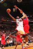 Philadelphia 76ers v Miami Heat: Dwyane Wade Photographic Print by Victor Baldizon