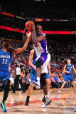 Minnesota Timberwolves v Phoenix Suns: Earl Barron Photographic Print by P.A. Molumby