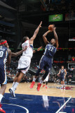 Memphis Grizzlies v Atlanta Hawks: Rudy Gay and Al Horford Photographic Print by Scott Cunningham