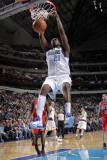 New Jersey Nets v Dallas Mavericks: Ian Mahinmi Photographic Print by Glenn James