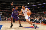 Sacramento Kings v Los Angeles Clippers: Brian Cook and Jason Thompson Photographic Print by Noah Graham