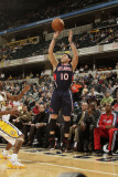 Atlanta Hawks v Indiana Pacers: Mike Bibby Photographic Print by Ron Hoskins