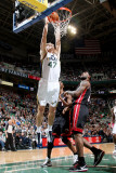 Miami Heat v Utah Jazz: Andrei Kirilenko Photographic Print by Melissa Majchrzak