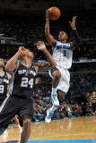 San Antonio Spurs v New Orleans Hornets: Chris Paul and Richard Jefferson Photographic Print by Layne Murdoch