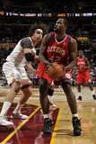 Philadelphia 76ers v Cleveland Cavaliers: Elton Brand and Anderson Varejao Photographic Print by David Liam Kyle