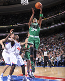 Boston Celtics v Philadelphia 76ers: Paul Pierce Photographic Print by David Dow