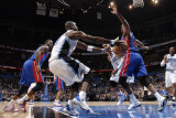Detroit Pistons v Orlando Magic: Mickael Pietrus Photographic Print by Fernando Medina