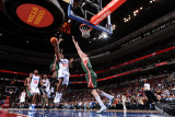 Milwaukee Bucks v Philadelphia 76ers: Lou Williams Photographic Print by Andrew Bernstein