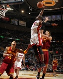 Miami Heat v Cleveland Cavaliers: Dwyane Wade and Anderson Varejao Photo by Nathaniel S. Butler
