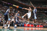 Memphis Grizzlies v Utah Jazz: Deron Williams Photographic Print by Melissa Majchrzak