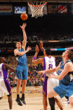 Minnesota Timberwolves v Phoenix Suns: Darko Milicic Photographic Print by Barry Gossage