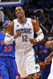 Detroit Pistons v Orlando Magic: Dwight Howard Photographic Print by Fernando Medina