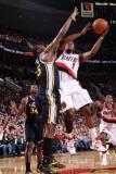 Utah Jazz v Portland Trail Blazers: Wesley Matthews Photographic Print by Sam Forencich