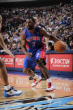 Detroit Pistons v Dallas Mavericks: Ben Gordon and Jason Kidd Photographic Print by Glenn James