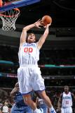 Charlotte Bobcats v Philadelphia 76ers: Spencer Hawes Photographic Print by Jesse D. Garrabrant