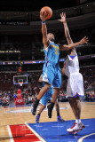 New Orleans Hornets v Philadelphia 76ers: Willie Green and Thaddeus Young Photographic Print by David Dow