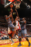 Charlotte Bobcats v Miami Heat: Tyrus Thomas Photographic Print by Victor Baldizon
