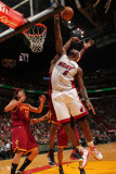 Cleveland Cavaliers v Miami Heat: LeBron James Photographic Print by Victor Baldizon