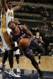 Atlanta Hawks v Indiana Pacers: Josh Smith and Solomon Jones Photographic Print by Ron Hoskins