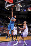 New Orleans Hornets v Sacramento Kings: Marco Belinelli and Donte Greene Photographic Print by Rocky Widner