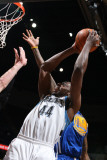 Golden State Warriors v Minnesota Timberwolves: Anthony Tolliver Photographic Print by David Sherman