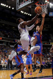 New York Knicks v Sacramento Kings: Tyreke Evans Photographic Print by Rocky Widner