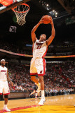 Indiana Pacers v Miami Heat: Jamaal Magloire Photographic Print by Victor Baldizon