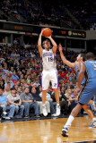 Washington Wizards v Sacramento Kings: Beno Udrih and Kirk Hinrich Photographic Print by Rocky Widner