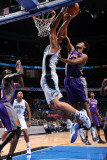 Phoenix Suns v Orlando Magic: Josh Childress and Ryan Anderson Lmina fotogrfica por Andrew Bernstein