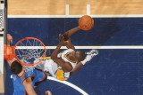 Oklahoma City Thunder v Indiana Pacers: Darren Collison Photographic Print by Ron Hoskins