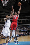 New Jersey Nets v Dallas Mavericks: Kris Humphries and Tyson Chandler Photographic Print by Glenn James