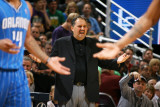 Orlando Magic v Utah Jazz: Stan Van Gundy Photographic Print by Melissa Majchrzak