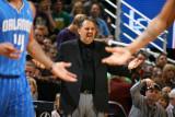 Orlando Magic v Utah Jazz: Stan Van Gundy Photographic Print by Melissa Majchrzak