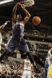 Charlotte Bobcats v Indiana Pacers: Derrick Brown Photographic Print by Ron Hoskins