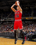 Chicago Bulls v Sacramento Kings: Kyle Korver Photo by Rocky Widner