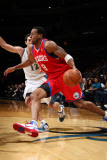 Philadelphia 76ers v Washington Wizards: Andre Iguodala and Kirk Hinrich Photographic Print by Ned Dishman