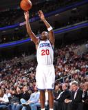 Charlotte Bobcats v Philadelphia 76ers: Jodie Meeks Photographic Print by Jesse D. Garrabrant