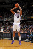 Miami Heat v Sacramento Kings: DeMarcus Cousins Photographic Print by Rocky Widner