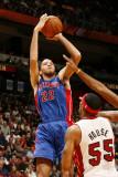 Detroit Pistons v Miami Heat: Tayshaun Prince Photographic Print by Issac Baldizon